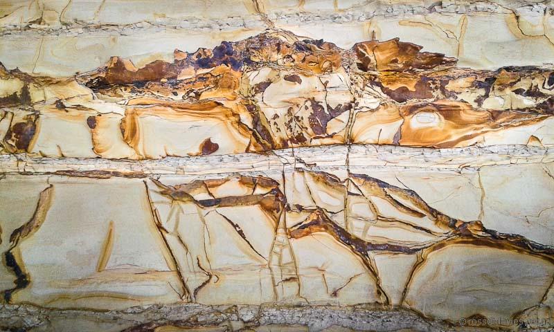 Rock patterns Tindalls Bay Whangaparaoa