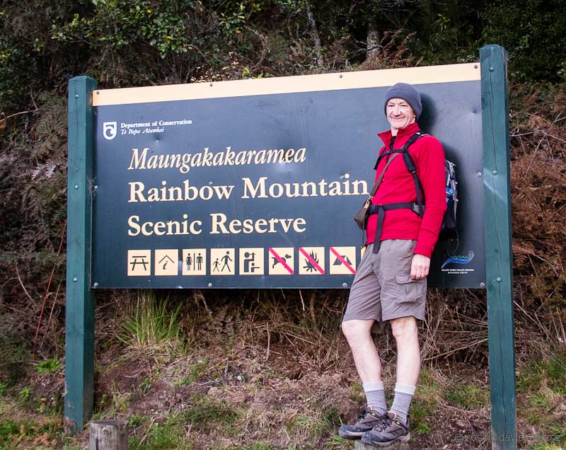 Red Ochre Mountain sign