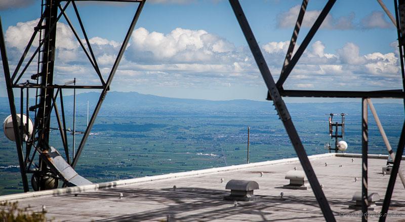 Tower at top of Mt Te Aroha