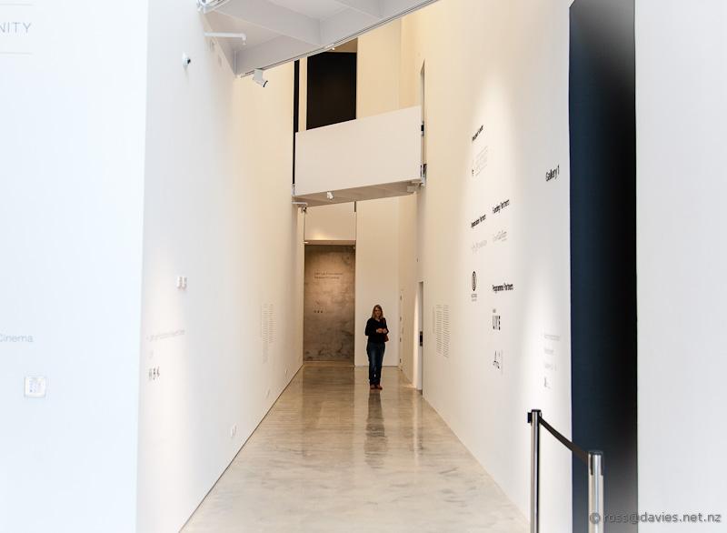 Interior, Len Lye Centre New Plymouth