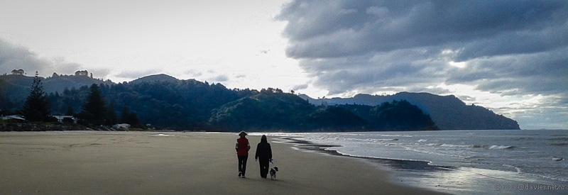 North from Waihi Beach