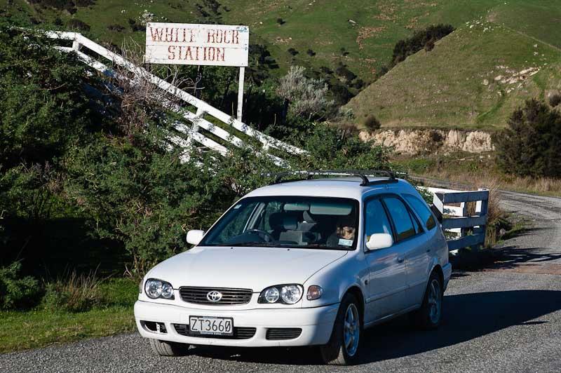 Homeward from White Rock