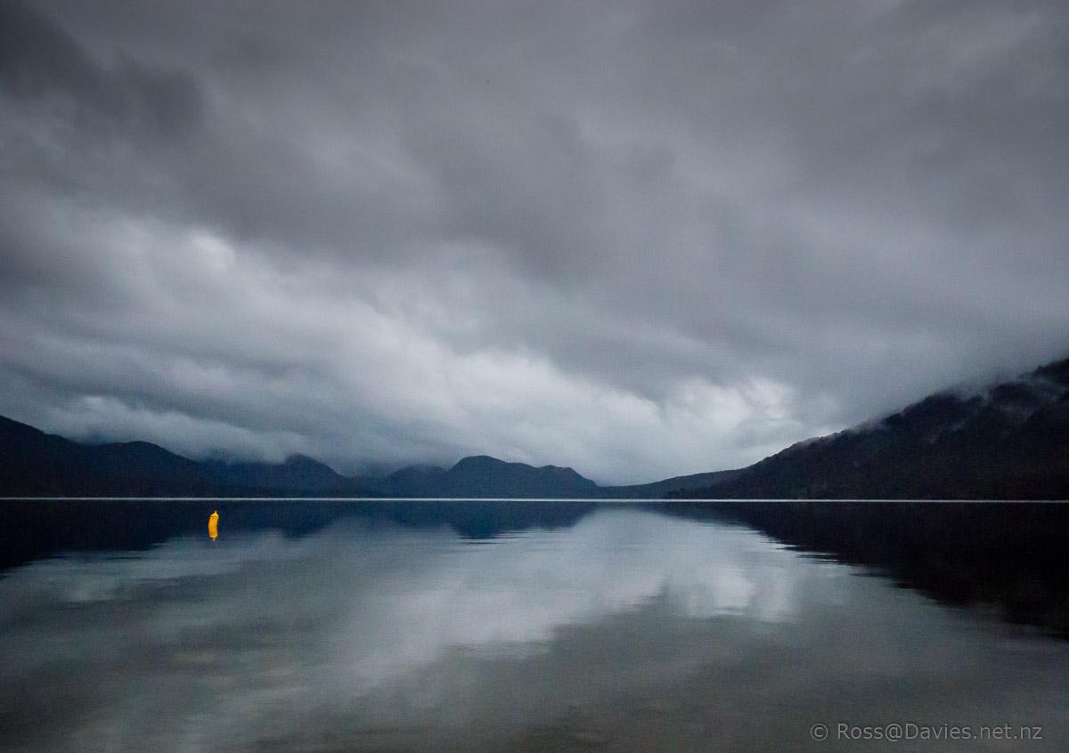 Evening - Lake Kaniere