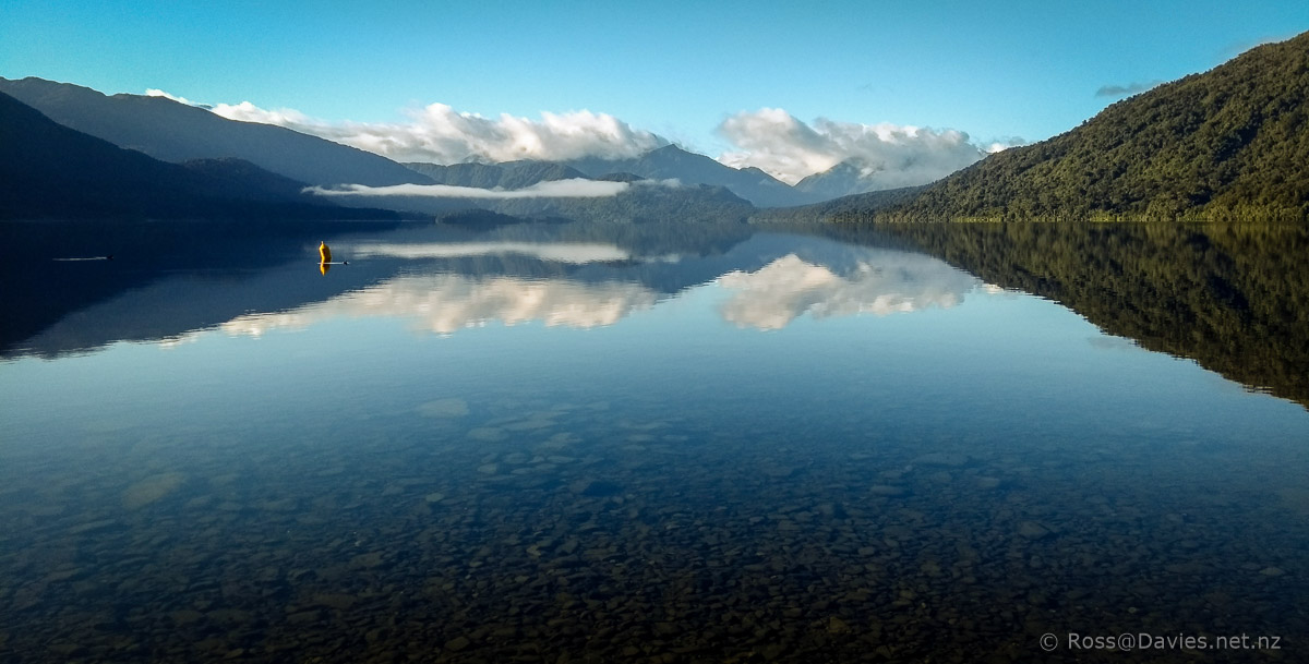 Lake Kaniere looking gorgeous