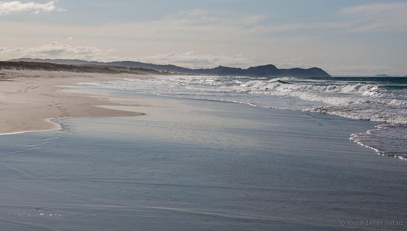 Patterns on the beach - Te Aria Point
