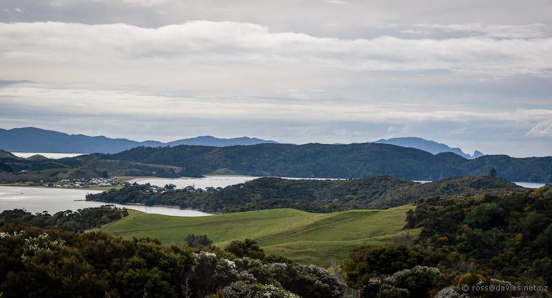 North from Whangaruru North Head