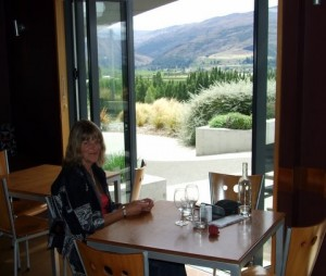 Lunch at Mt Difficulty winery
