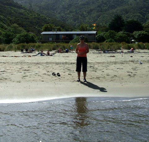 Wyn at Whites Bay