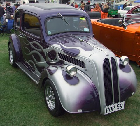 Ford Popular at the hot rod show