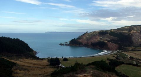 Robin Hood Bay from the road over to Ocean Bay