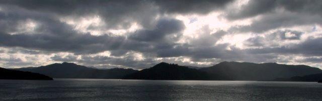Queen Charlotte Sound from Karaka Point