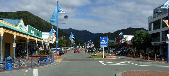 Main street of Picton