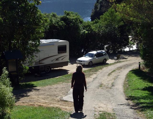 DOC camp at Aussie Bay