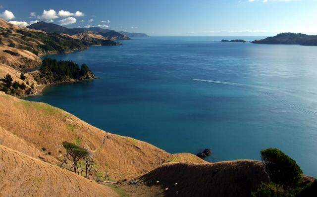 Towards Tasman Bay