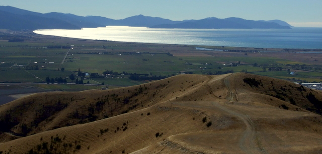 Cloudy Bay and Port Underwood from Wither Hills