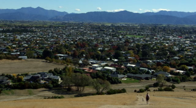 Blenheim from Wither Hills