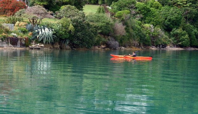 Kayaker Portage
