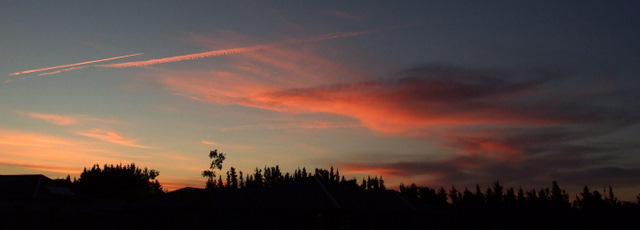 Sunset Wairau Valley