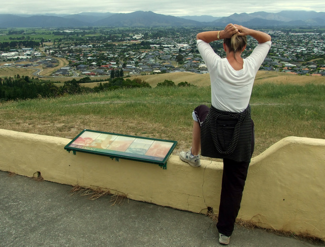 Wyn at Rotary Lookout