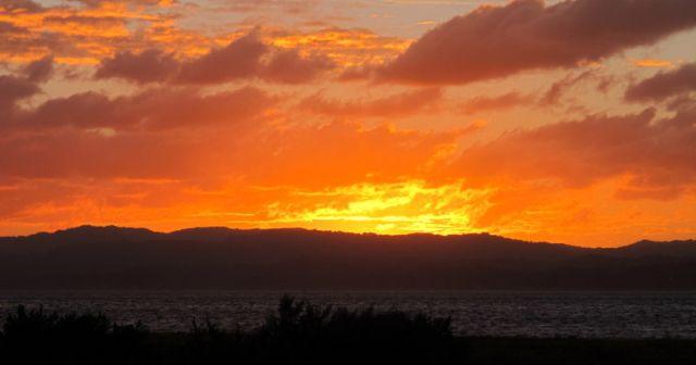 Sunset Manukau Harbour