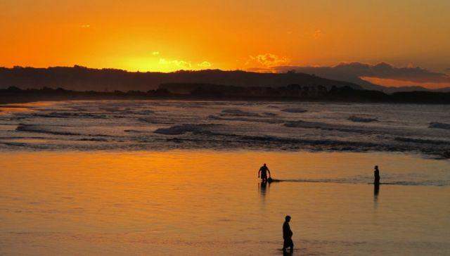 Sunset at Maketu Estuary