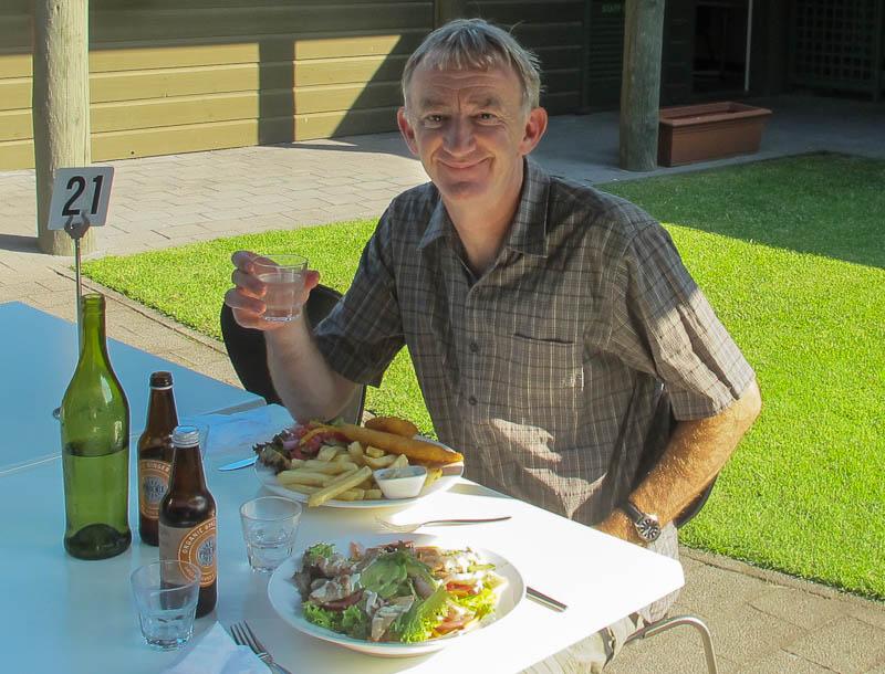 Ross birthday lunch