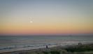 Moonrise Over Pukehina Beach