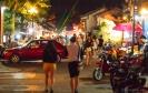 Dali Old Town street at night