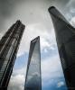 Jin Mao Tower, Shanghai World Financial Centre and Shanghai Tower