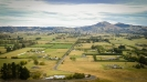 Saddle Hill across  the Taieri Plains