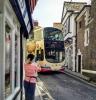 The narrow streets of Lyme Regis