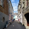 Narrow lanes of Mevagissey Harbour