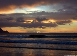Uretiti beach sunrise 2
