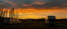 Sunrise at A & P Showgrounds Mosgiel