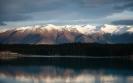 Ben Ohau Range across Lake Pukaki