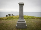 Memorial to victims of Capitaine Bouganville disaster of Whananaki Beach