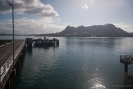 Mt Manaia across Whangarei Harbour from Marsden Point