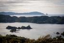 North across Bland Bay towards Cape Brett
